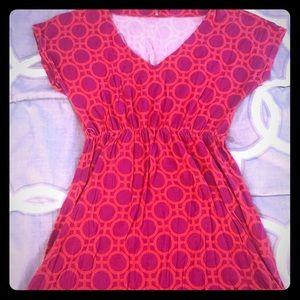 Dresses & Skirts - Funky, flowy dress- size XS